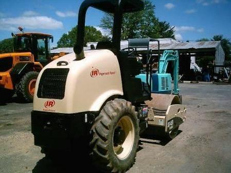 Used ingersoll rand sd45d compaction equipment smooth drum for sale