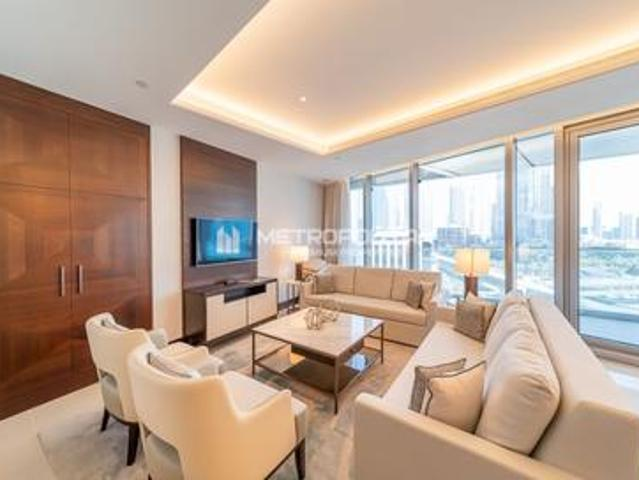 Vacant|brand New|biggest Middle 3br|full Burj View