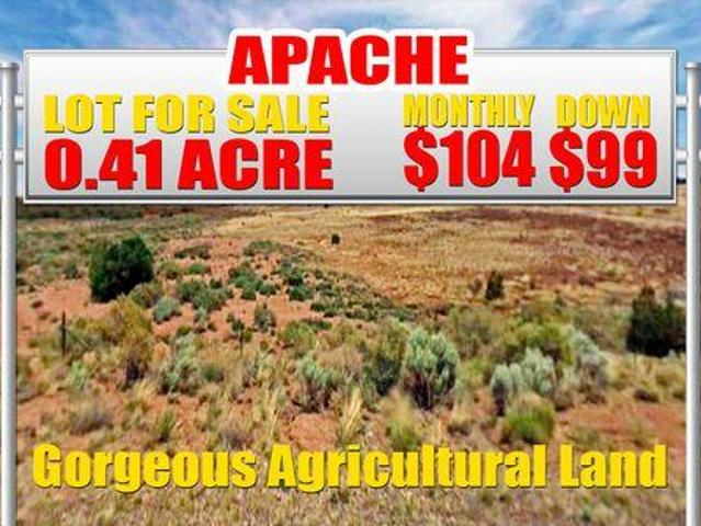 Vacant Land Concho Arizona For Sale At 99