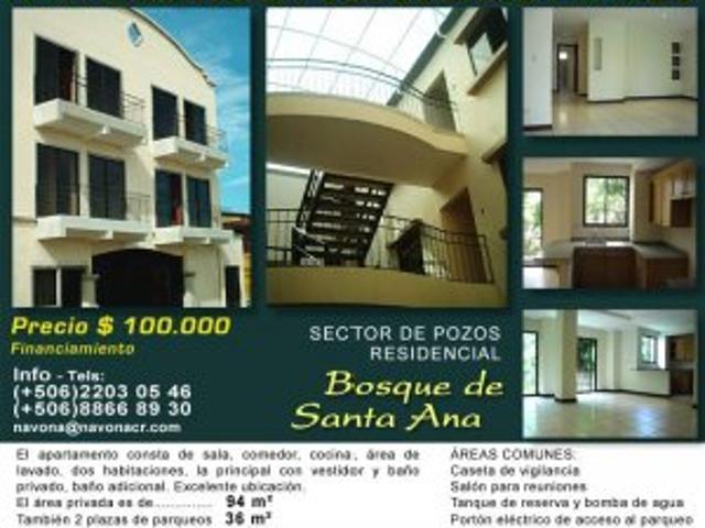 Vendo Apartamento Residencial Bosques De Santa Ana Costa Rica