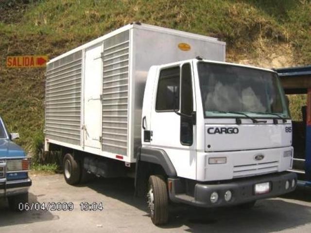Vendo Camión Ford Cargo 815 Furgon 2008