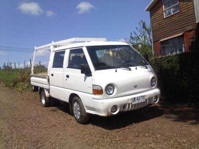 Vendo camioneta hyundai porter h100 doble cabina 2001
