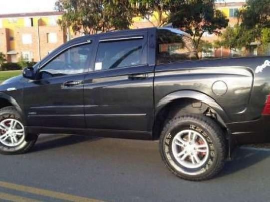 Vendo Camioneta Pick Up 4x4 Doble Cabina Turbo 2007