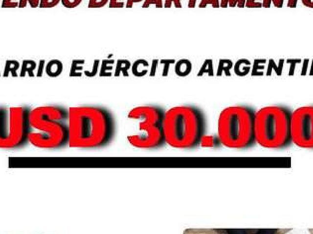 Vendo Departamento En Barrio Ejercito Argentino
