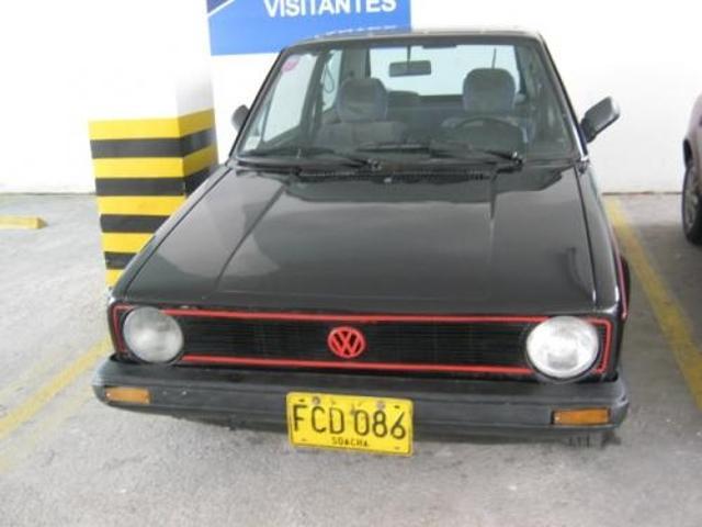 Vendo Volkswagen Golf Gti Modelo 1980 Aleman