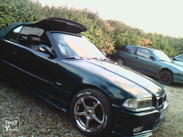 Voitures occasion bmw 320 cabriolet e36 mitula voiture for Interieur cuir bmw e36 cabriolet