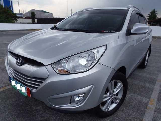 Very fresh like new 2011 hyundai tucson theta 11 mt