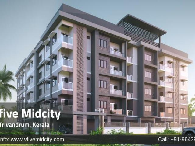 Vfive Midcity Residential Apartments In Trivandrum
