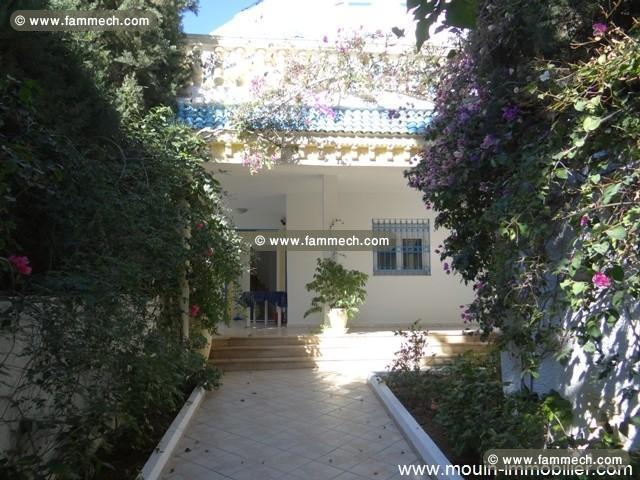 Villa Chams Ref Av581 Hammamet Kharrouba