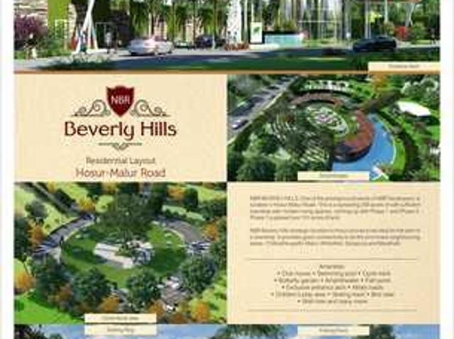 Villa Plots Going Cheap Only For 1500 Sq.ft At Nbr Beverly Hills Near Sarjapur