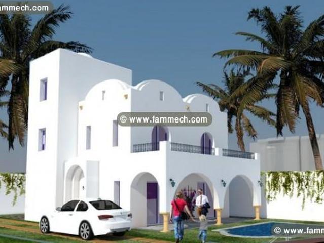 Villa Style Américain Avec Piscine À Zone Craxi Ha