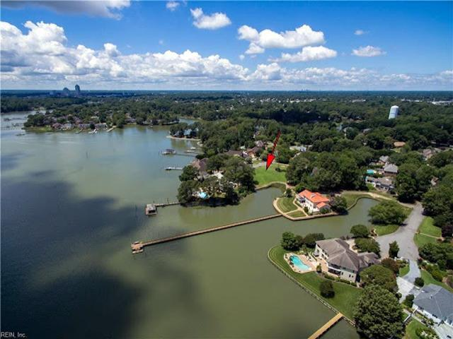 Virginia Beach, Waterfront Home Site On A Tranquil Cul De