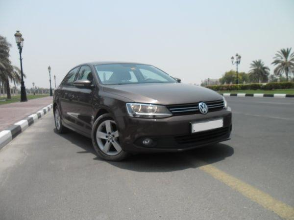 Volkswagen jetta 2012 gasoline vw jetta full options gcc spec low mileage perfect conditio...