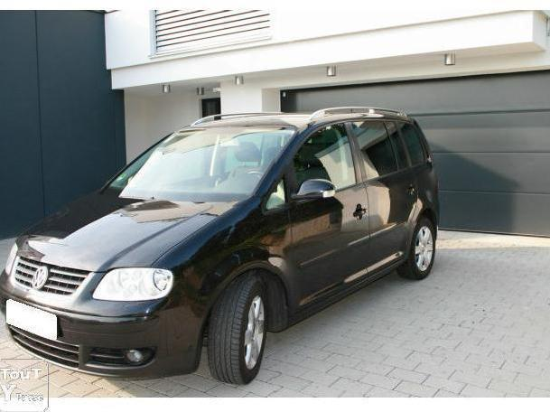 voitures occasion volkswagen touran 7 places 140 ch. Black Bedroom Furniture Sets. Home Design Ideas