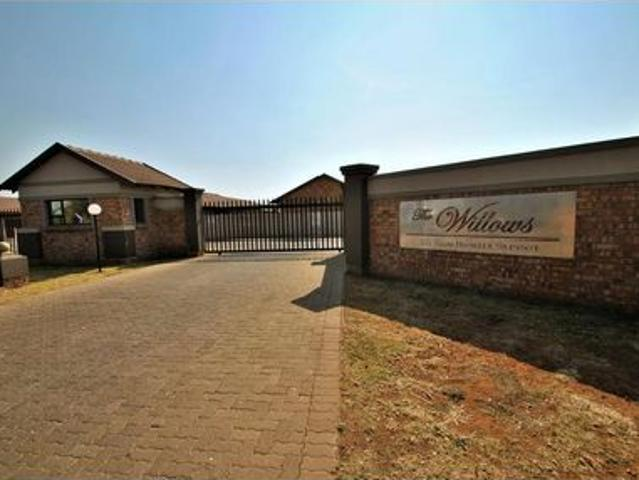 We Are Excited To Bring To Market The Final Remaining Units At The Willows, Meyerton