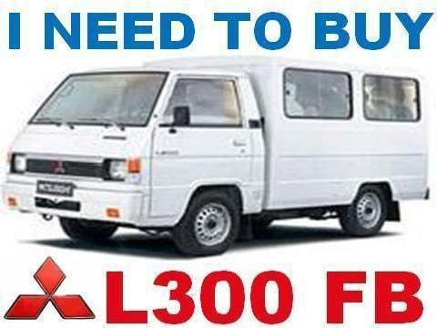 We Buy 2nd Hand / Any Model L300 Fb
