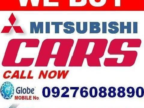 We buy any used mitsubishi cars vans pick ups auvs and suvs