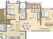 For Sale: 1730 Sq Ft 3 Bhk + 3t Apartments In Savvy Infrastructures Swaraaj Sports Living ...