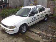 1996 toyota corolla xe with taxi line till 2011