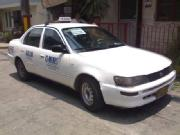 1997 toyota corolla with taxi line up to 2012