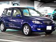 2004 blue mazda 2 with 0 previous owner