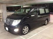 2005 nissan elgrand highway star 8 seaters