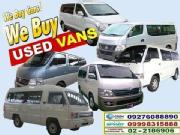 2015 we buy all brands second hand commuter and passenger van