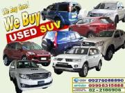 2015 we buy all kinds second hand good quality suv