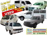 2015 we buy second hand utility delivery vehicles