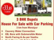 3 Bhk Independent House/ Villa In Woraiyur Extention, Trichy