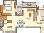 For Sale: 1510 Sq Ft 3 Bhk + 3t Apartments In Savvy Infrastructures Swaraaj Sports Living ...