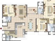 For Sale: 2280 Sq Ft 3 Bhk + 3t Apartments In Prestige Group Lakeside Habitat Apartments V...