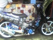 For sale sale honda wave 125 rush or swap to xrm or shogun pro with gud setu