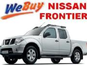 I buy any second handpre owned nissan frontier pick up
