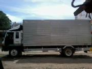 Isuzu forward aluminum closed van 6bg1 saleswap