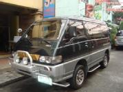 Mitsubishi delica exceed 4wd turbo diesel