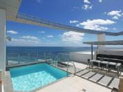 North Facing Beachfront Penthouse Over Two Levels With Uninterrupted Panoramic Views