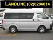 Rent a van in a cheapest rates rental