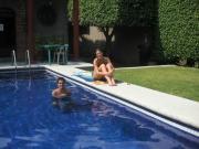Renta Mensual Renta Por Semana De Casa En Condominio Con Alberca