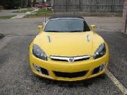 Saturn sky 2007 sunburst yellow redline