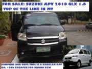 Suzuki apv 10 mt with mags and led tv monitors front and back