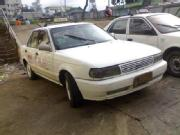 Taxi for sale 1995 mdl nissan sentra with taxi franchise up to 2013