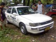 Taxi for sale 1995 mdl toyota corolla taxi with lpg