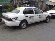 Taxi for sale 1997 toyota corolla with taxi line valid until 2012