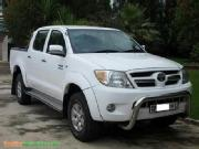 Toyota hilux 2008 2008 toyota hilux double cab 2 7 vvti raider white used car for sale in ...