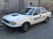 Tqxi for sale 1996 mdl nissan lec with taxi franchise up to 2014