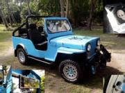 Willys jeep totally upgraded