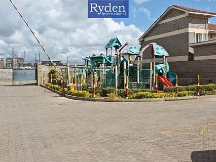 Well Maintained 3 Bed Maisonette With Garden And Sq In A Gated Estate, Muthama Heights, Of...