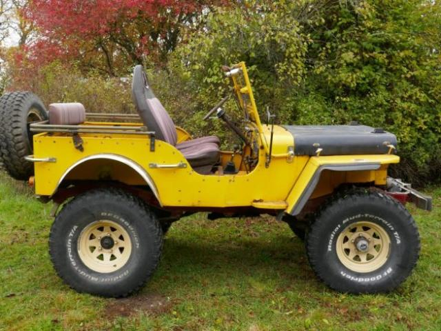 begagnad willys jeep