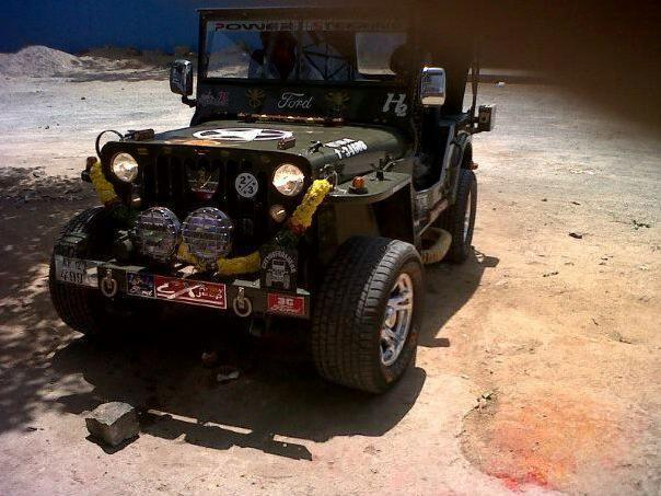 Willys modified